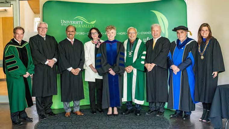 UFV welcomes Dr. Joanne MacLean to presidency with installation ceremony