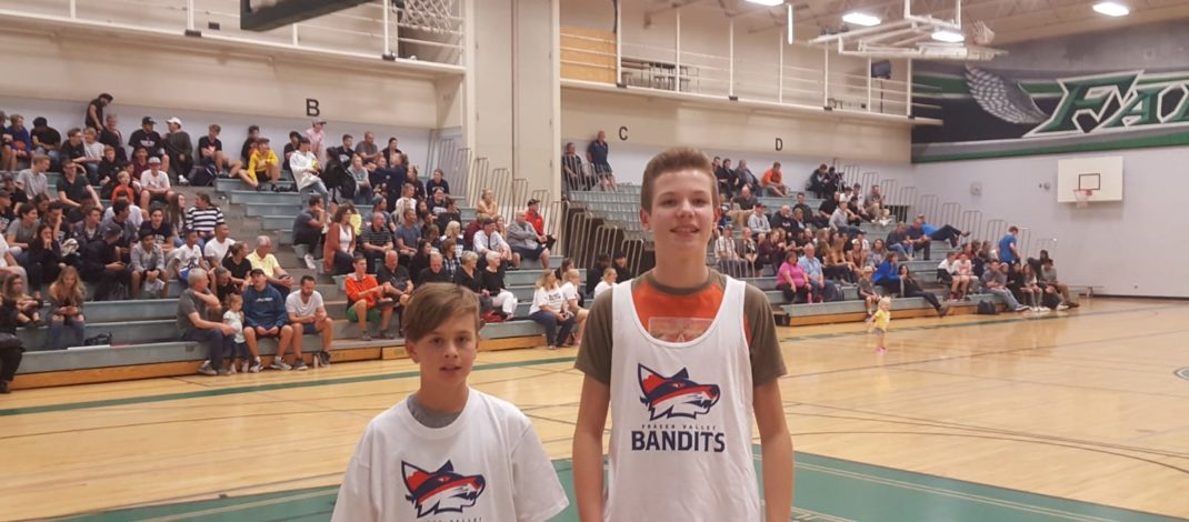Hundreds of fans pack Sardis Secondary School for exhibition game sponsored by the Bandits